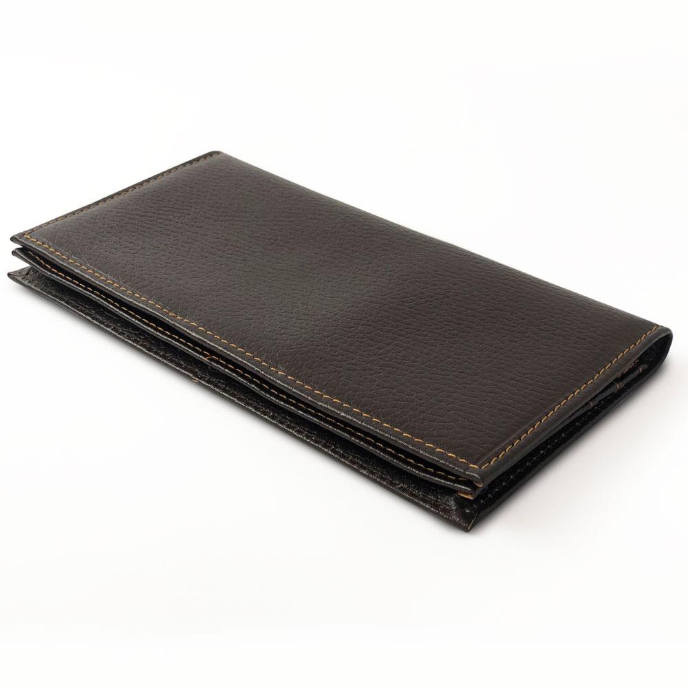 کیف چرم پالتویی سه لت طبله دار