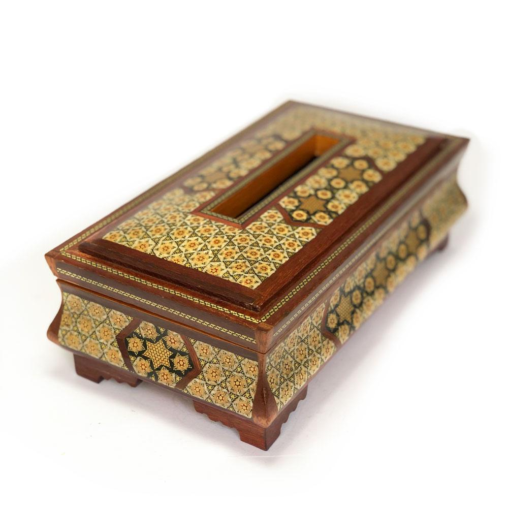 جعبه دستمال کاغذی مدل توپی خفاشی
