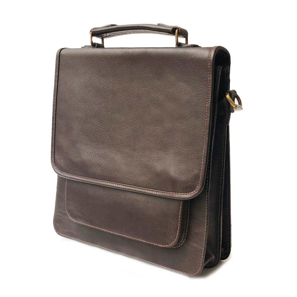 کیف چرم دوشی مدل ch-2123