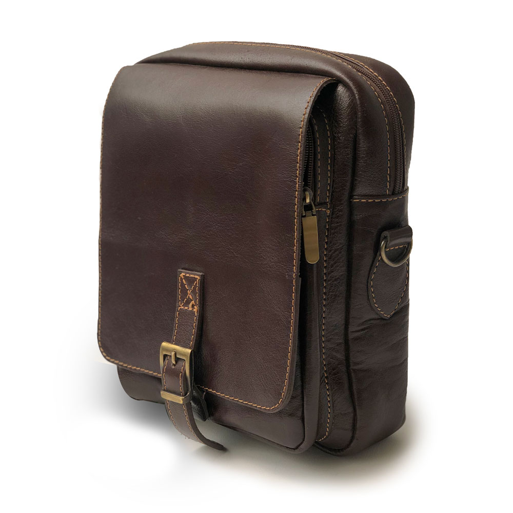 کیف چرم دوشی مدل ch-2114