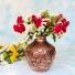 گلدان قلمزنی 1