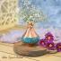 گلدان فیروزه کوبی  1