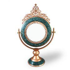 آینه گرد فیروزه کوب