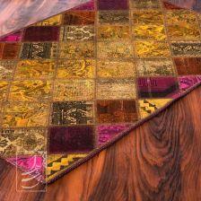 فرش چهل تکه دستباف 1 در 1/5 مدل ft-57